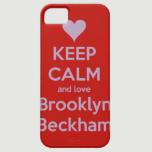 Brooklyn Beckham iPhone Case