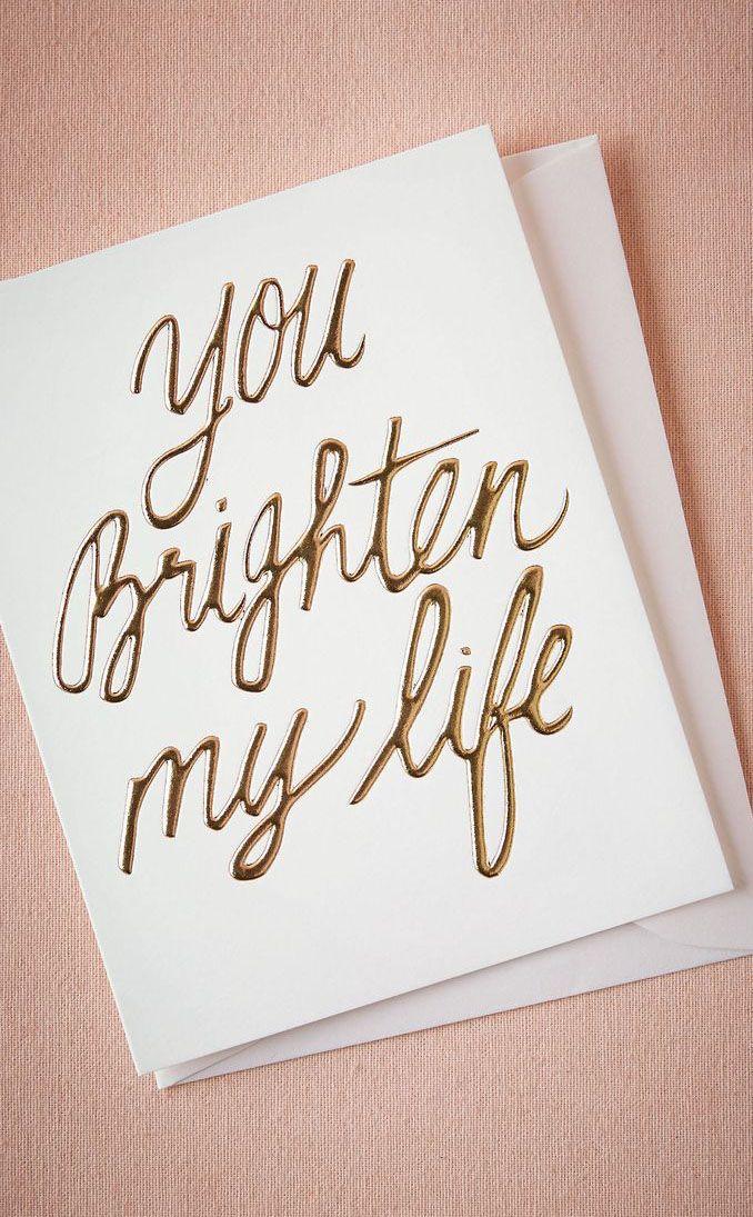 You Brighten My Life Words Words Words Happy Married Life