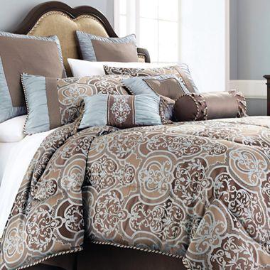 Chris Madden® 7-pc. Laredo Comforter Set & Accessories ...