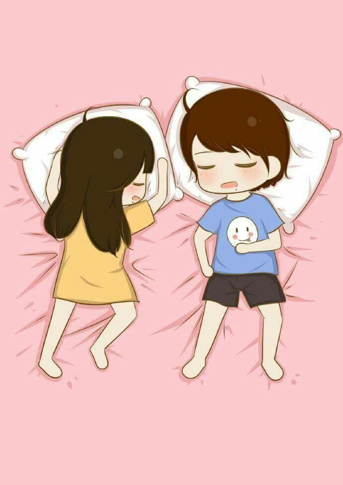 This Is How I Sleep Almost All The Time Xp P Cute Couple Cartoon Cute Love Cartoons Cute Cartoon Wallpapers