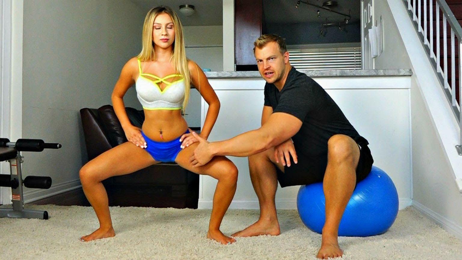 Ejercicios para la parte interna de tus muslos. Video que te enseña hacer ejercicios para la cara interna de tus muslos, para tonificarlos y fortificarlos.