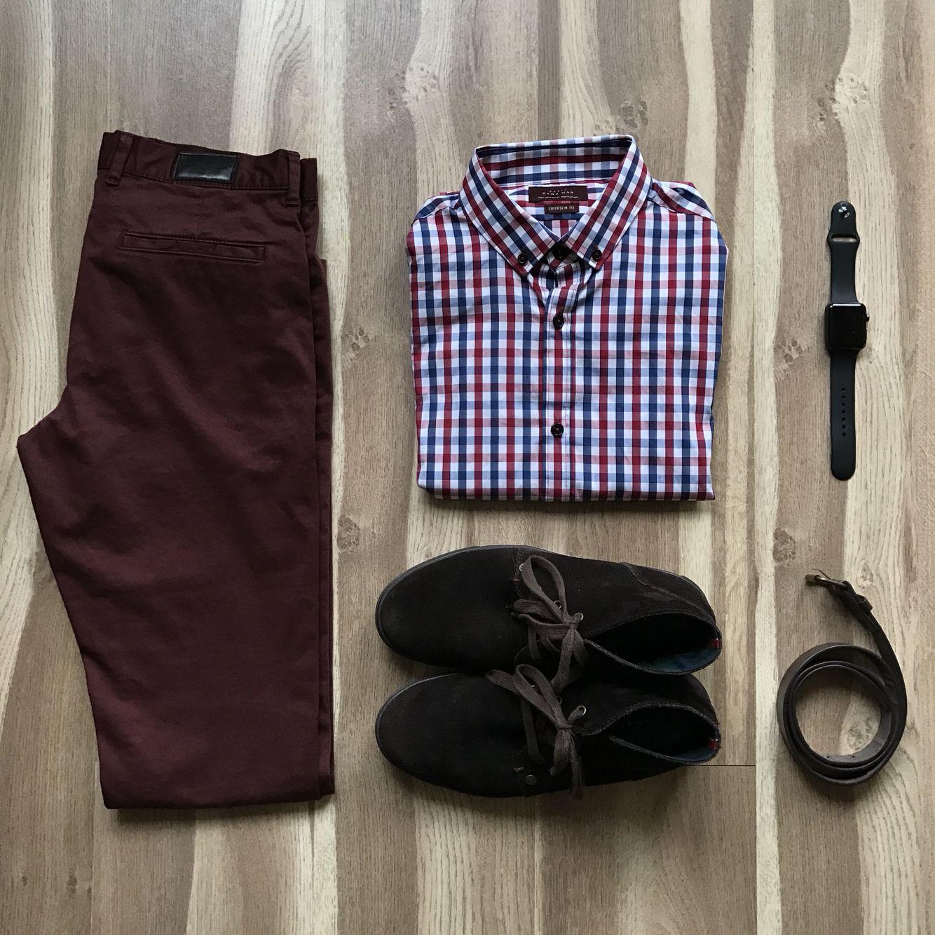 c43ef3a977f Business casual men outfit  shirt (Zara)
