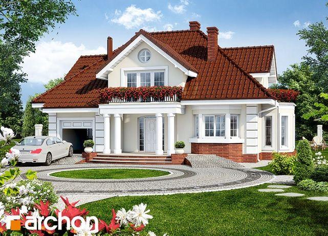 projekat ku e sa potkrovljem i gara om archon 3 house grundriss pinterest traumh user. Black Bedroom Furniture Sets. Home Design Ideas
