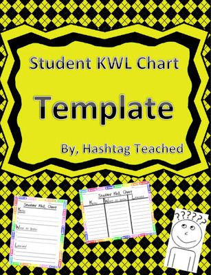 Differentiated Student KWL Chart Template from Hashtagteached from - kwl chart