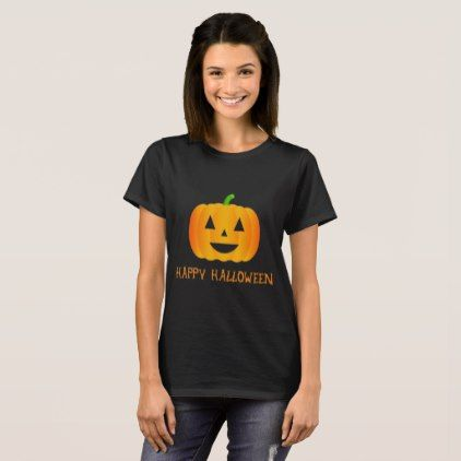 Halloween Pumpkin - Happy Halloween T-Shirt - Halloween happyhalloween festival party holiday