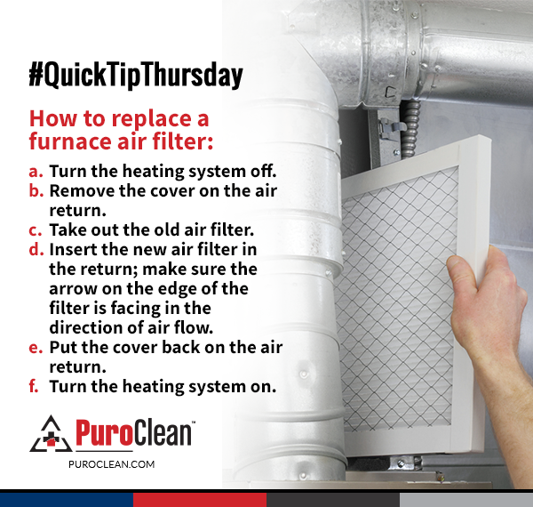 QuickTipThursday Check out how to replace a furnace air