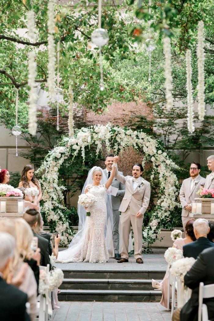 Pin On Crescent Court: Garden Weddings Ceremony, Dfw Wedding, Dfw Wedding Venues