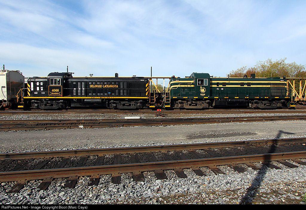 RailPictures.Net Photo: DL 1554 Delaware Lackawanna Alco RS-3 at Scranton, Pennsylvania by Bicot (Marc Caya)