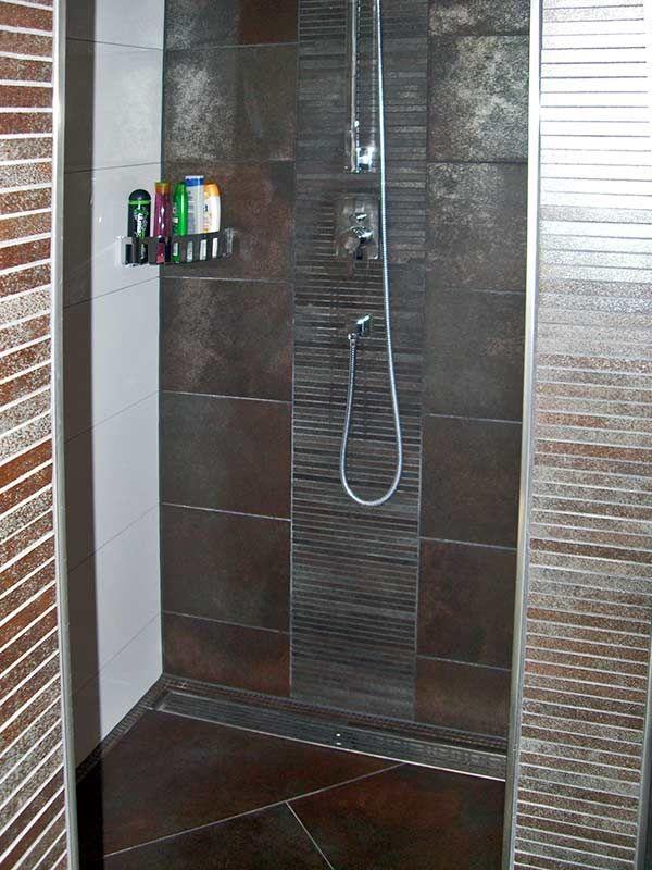 Dusche fliesen Hello- douchecabine Pinterest Portal - badezimmer ohne fliesen