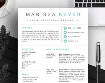 Creative Resume Template Cover Letter Cv Guide For By Introduice