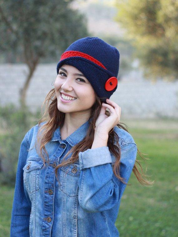 6281182e494a3 Womens knit hat