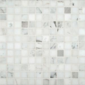 Jeffrey court carrara white in  mm marble mosaic floor wall tile the home depot also different ways to lay subway tiles bathroom pinterest