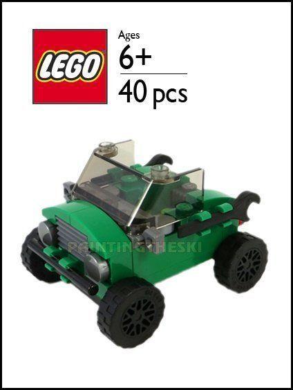 Lego Car Jeep Parts Instructions Kit Mini Model Build Vehicle City