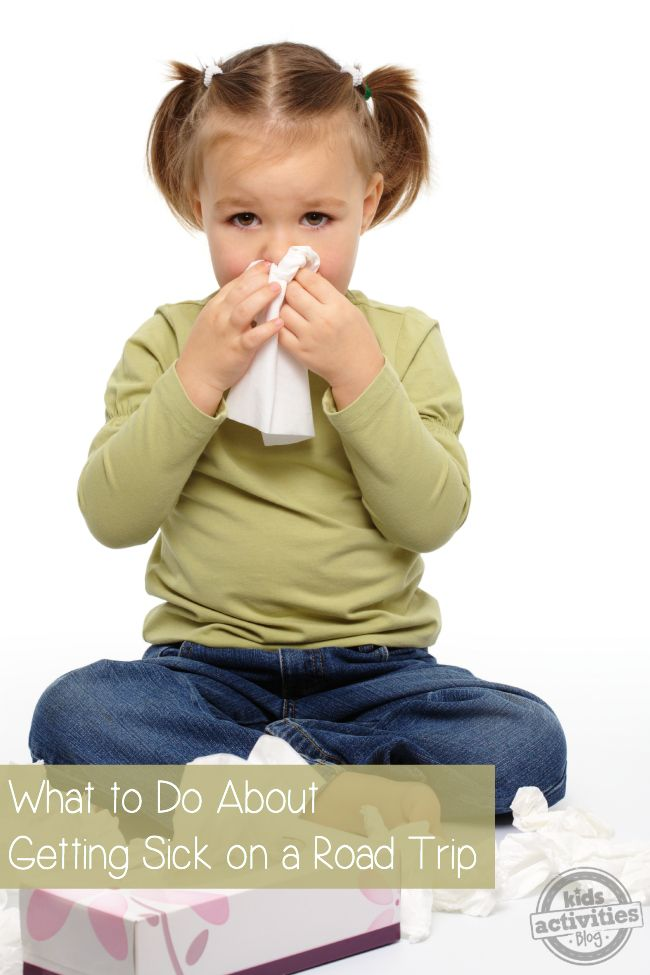 Getting Sick on a Road Trip | Helping kids, Kids learning ...