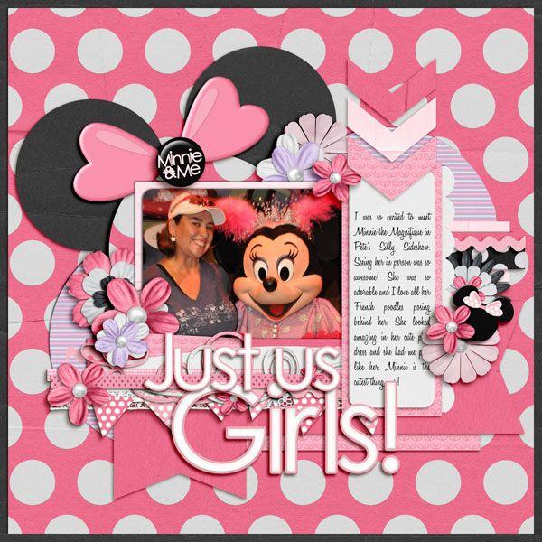 Just Us Girls Mousescrappers Disney Scrapbooking Gallery
