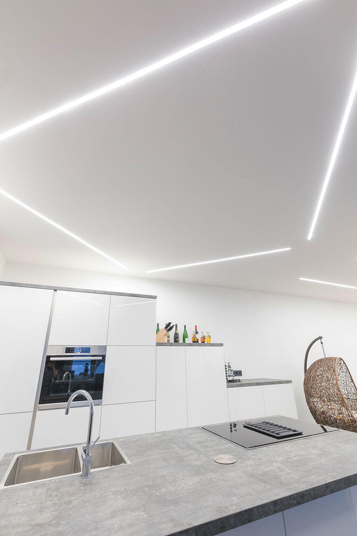 Lineares Licht Als Primaerbeleuchtung Mit Profilen Von Reprofil Schlicht Edel Und Modern Reprofil Profil Led Trockenbau Beleuchtung Beleuchtungsideen