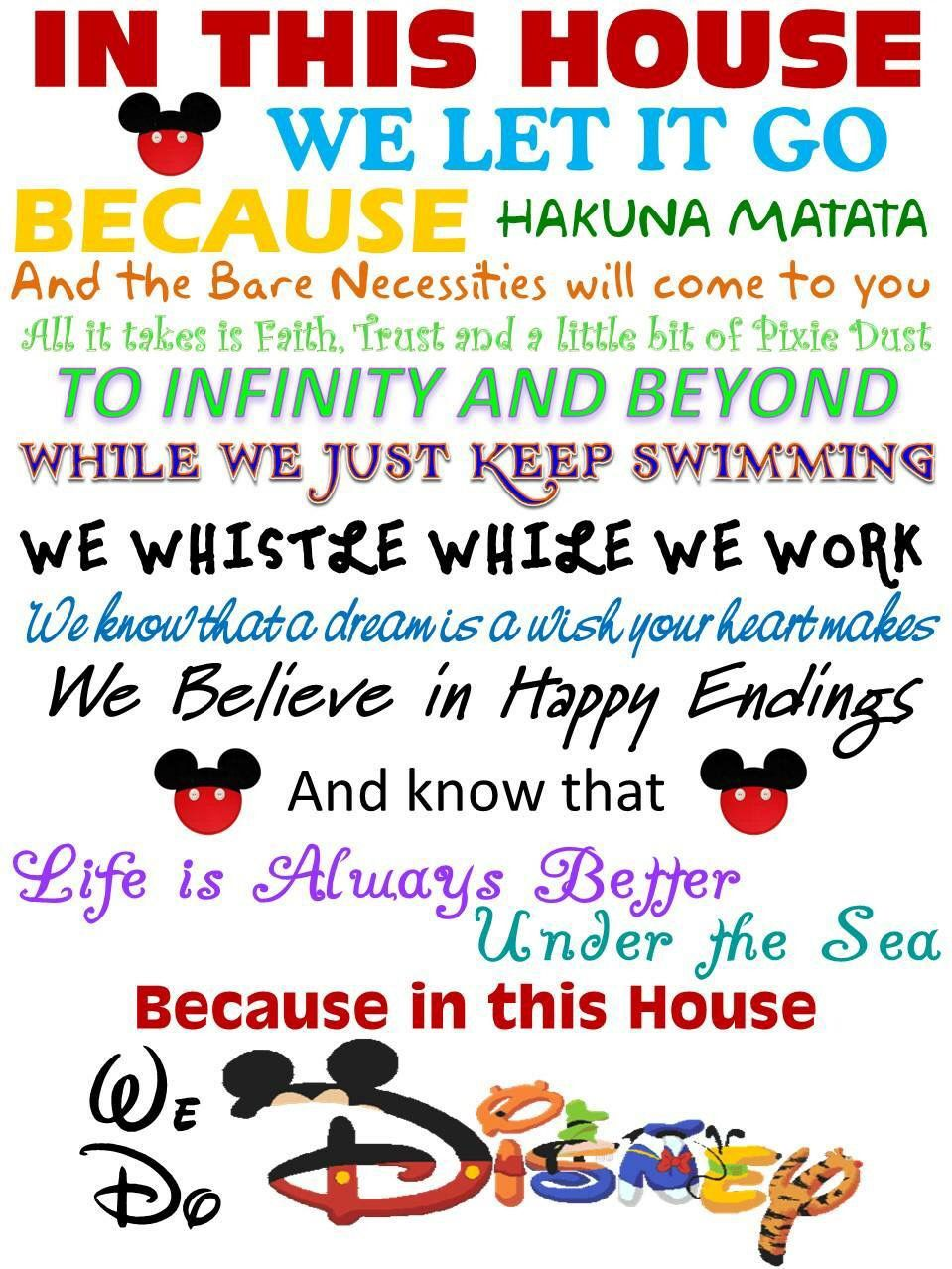 This Is Going In My Future Home Disney Disney Quotes