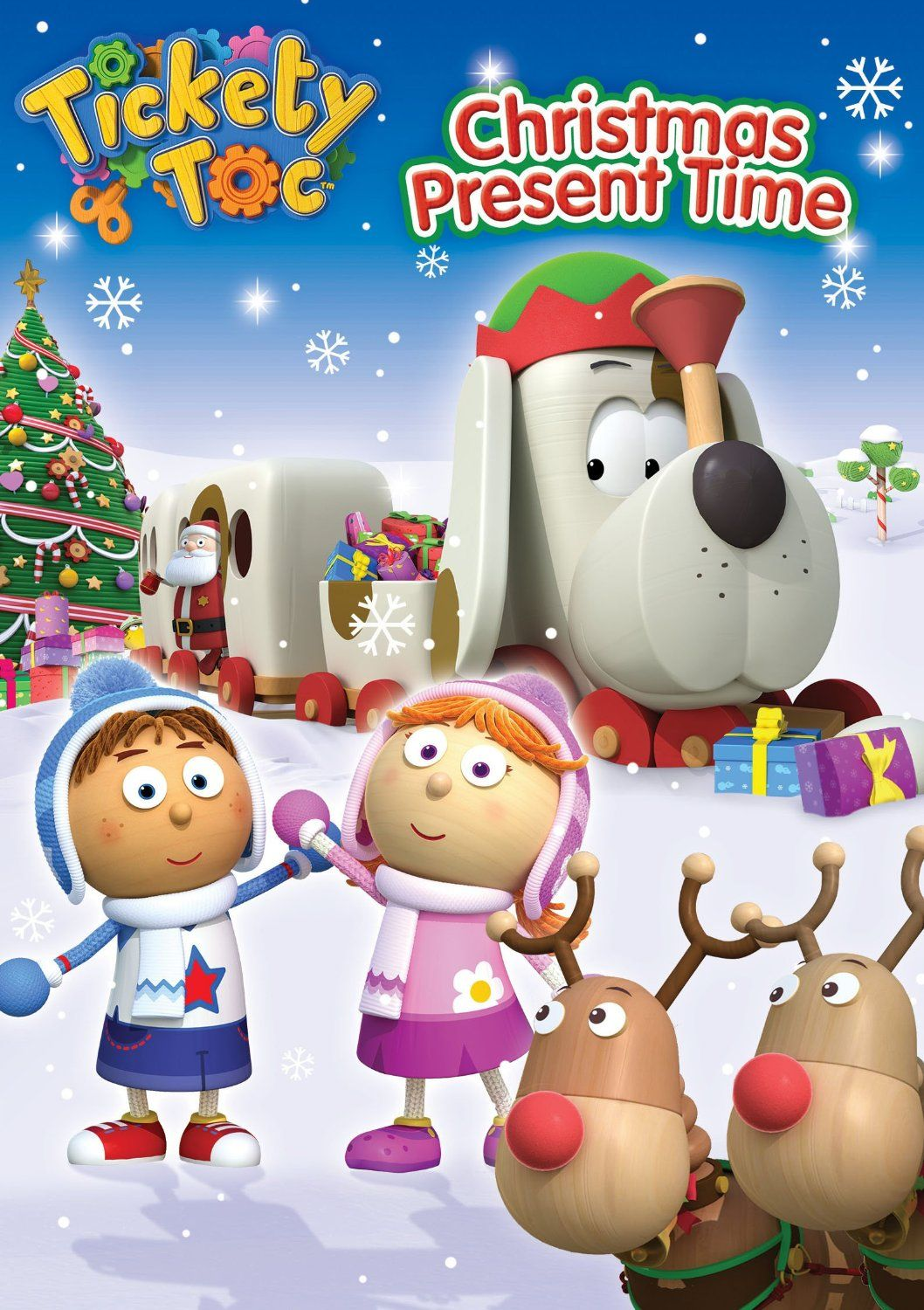 Tickety Toc: Christmas Present Time DVD | Giveaways | Pinterest ...