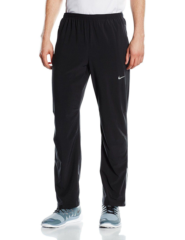 352d37e184a61 Amazon.com: Nike Dri-FIT Stretch Woven Pant - Black: Sports ...