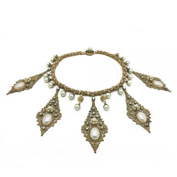 Vintage Costume Jewellery - DEMARIO Collar Jennifer Gibson Jewellery.com