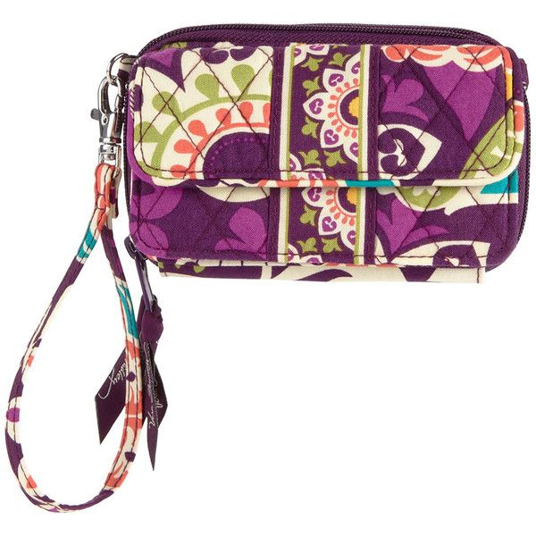 Vera Bradley Plum Crazy All-in-One Crossbody Bag ($27) ❤ liked on Polyvore featuring bags, handbags, shoulder bags, vera bradley handbags, vera bradley, crossbody shoulder bag, white crossbody purse and zip shoulder bag