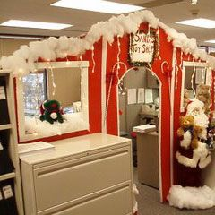Christmas In Your Office | Office Spaces, Decorating And Decoration
