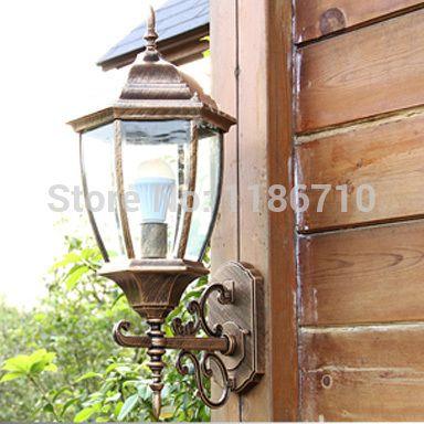 Outdoor Wall Light European Outdoor Waterproof Wall Lamp Garden