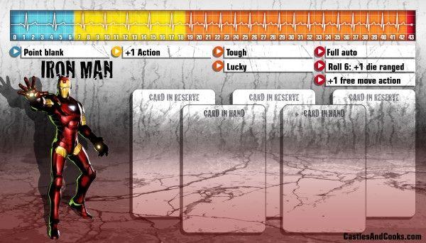 Ironman Zombicide Avengers Marvel Avengers Marvel