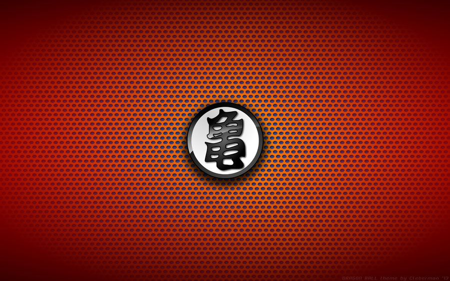 Wallaper Dragon Ball Turtle Logo White By Kalangozilla Deviantart Com On Deviantart Dragon Ball Dragon Ball Wallpapers Dragon Ball Z