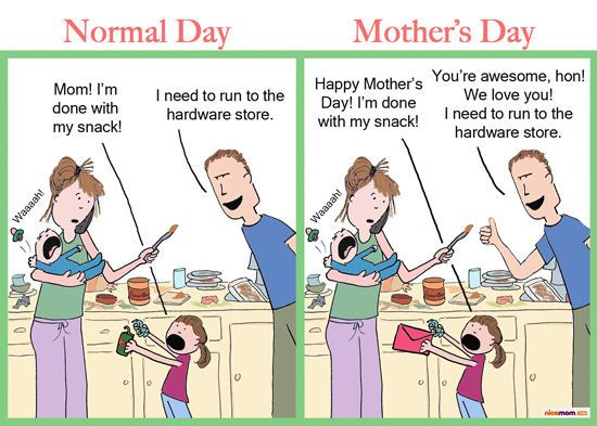 Funny Mothers Pictures Funny Mothers Pictures Mothers Day Cartoon Motherhood Funny Funny Mothers Day
