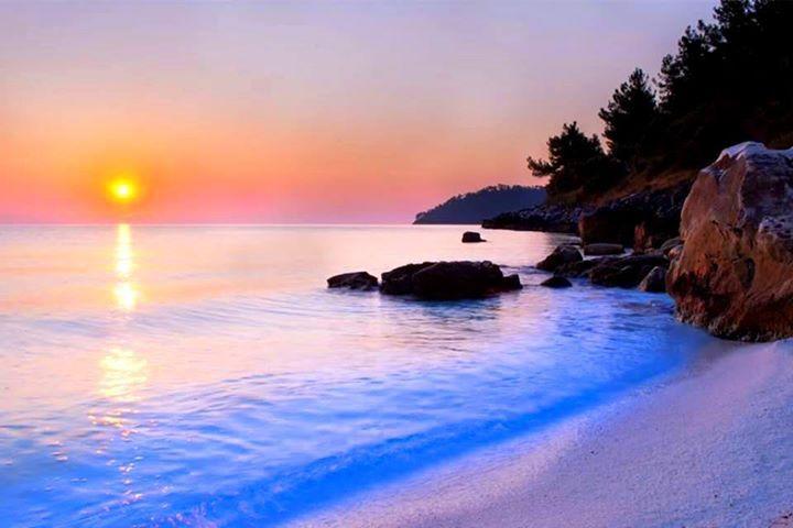 جمال البحر Beach Sunset Images Nature Wallpaper Sunset Images