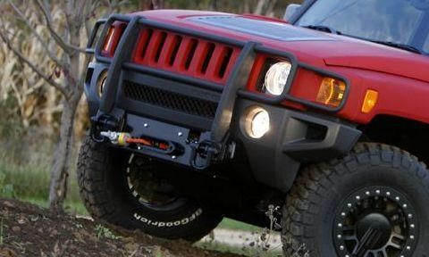 H3 Winch Mount Defelice Offroad Innovations Llc Winch Hummer Cars Hummer H3