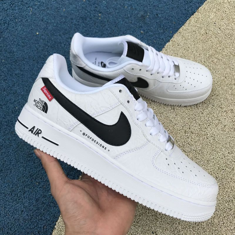 Supreme X The North Face X Nike Air Force 1 Sup Af1 Low White Black Ar3066 100 Nike Nike Air Nike Air Force