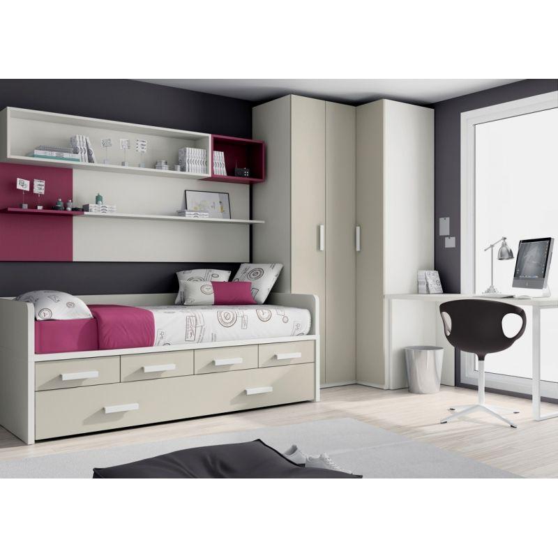 017 compacta armario rinconero y mesa cuartos en 2019 for Catalogo ikea dormitorios infantiles
