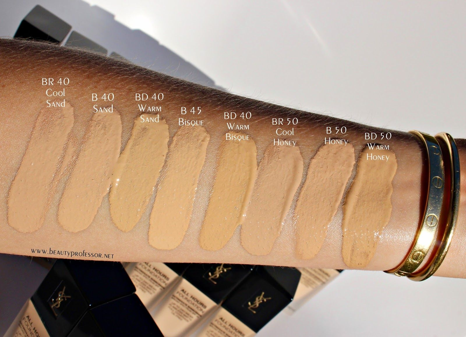 606e3219c85c8 2 Major Things: A Glimpse at the Beauty Professor x LMdB Lip Color Process  + A First Look at the YSL All Hours Foundation | Beauty | Ysl foundation,  ...