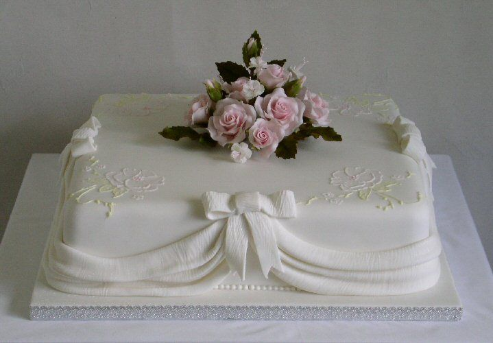 simple 1 tier square wedding cakes easy wedding cakes to make search cake 19904