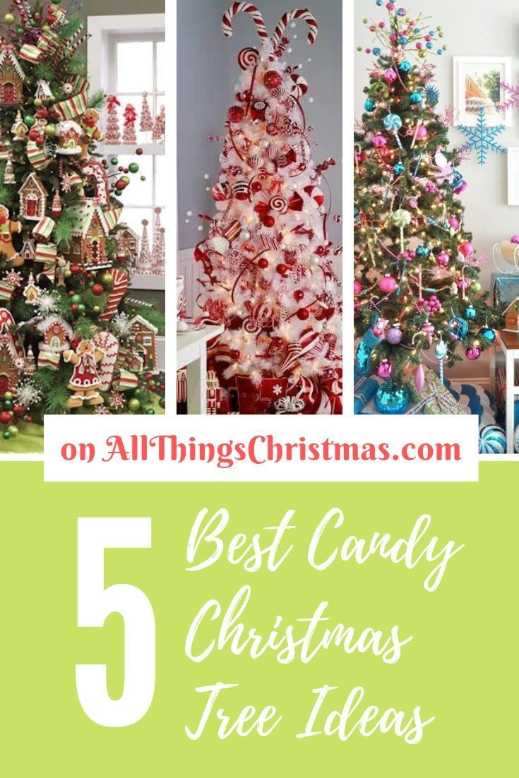 Tree Why not make your holidays extra sweet with a Candy Themed Christmas Tree Here are some awesome ideas Why not make your holidays extra sweet with a Candy Themed Chri...