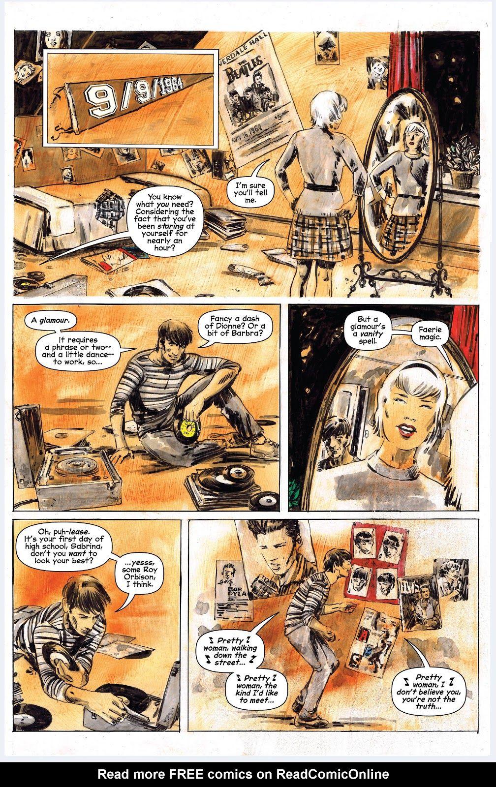 Chilling Adventures Of Sabrina Issue 1 Read Chilling Adventures Of Sabrina Issue 1 Comic Online In High Quality Sabrina Spellman Archie Comics Comics