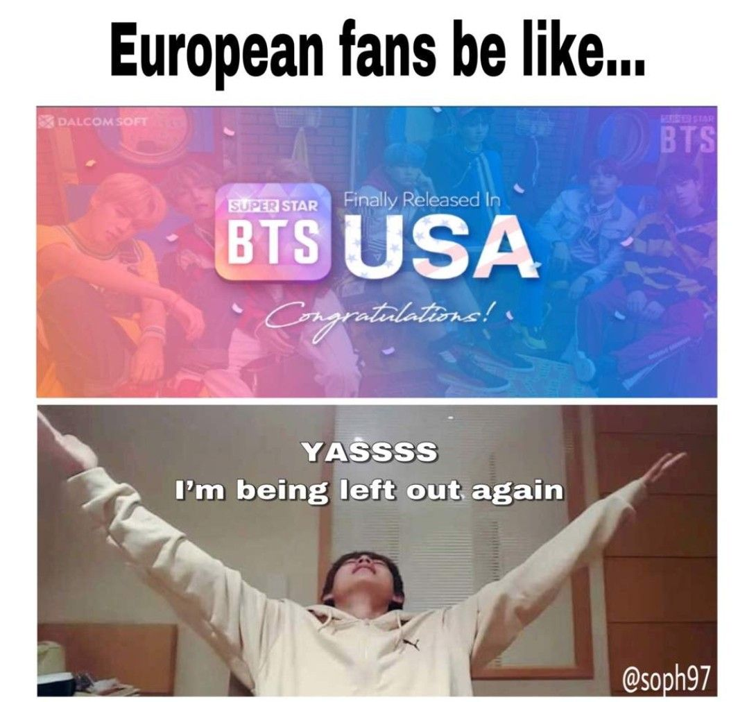 Indian Fans Noone Even Mentions Us Atleast Bts Knows Tht Their Fans Are In Europe Bts Funny Bts Memes Bts