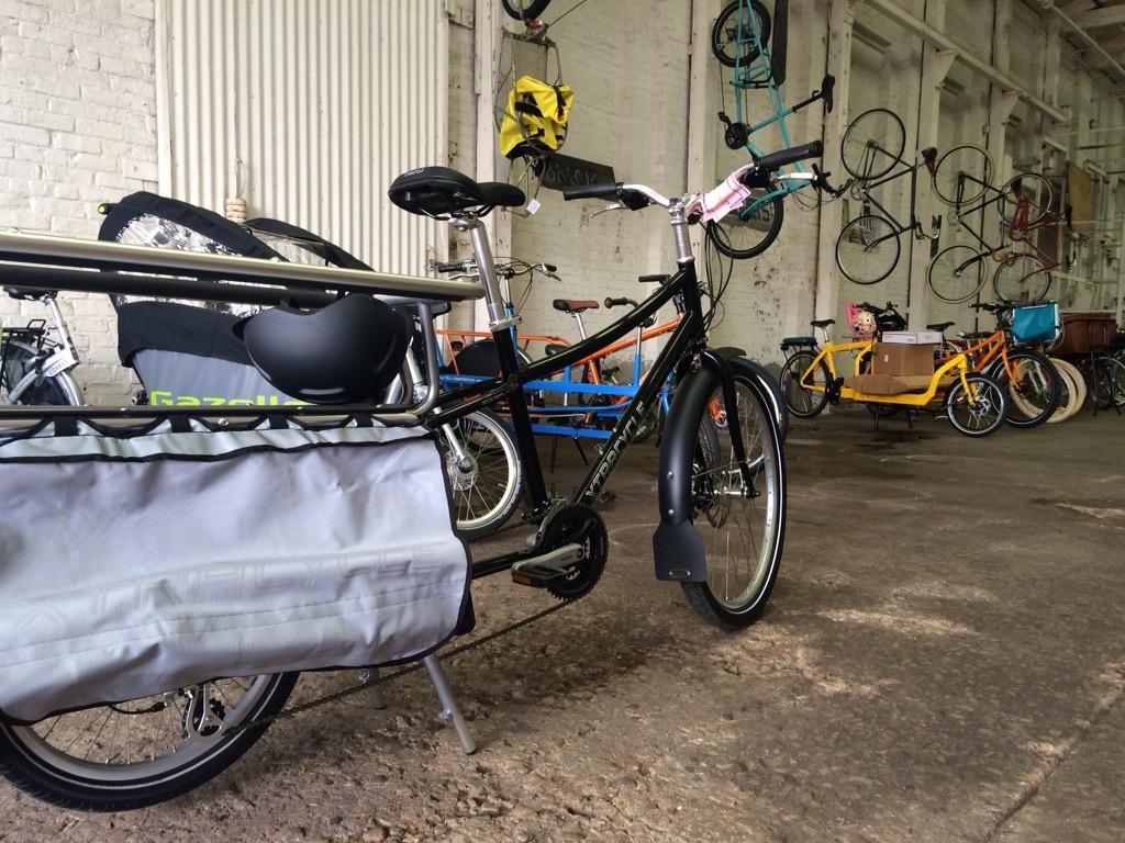 marni brewster on Cargo bike, Baby strollers, Xtracycle