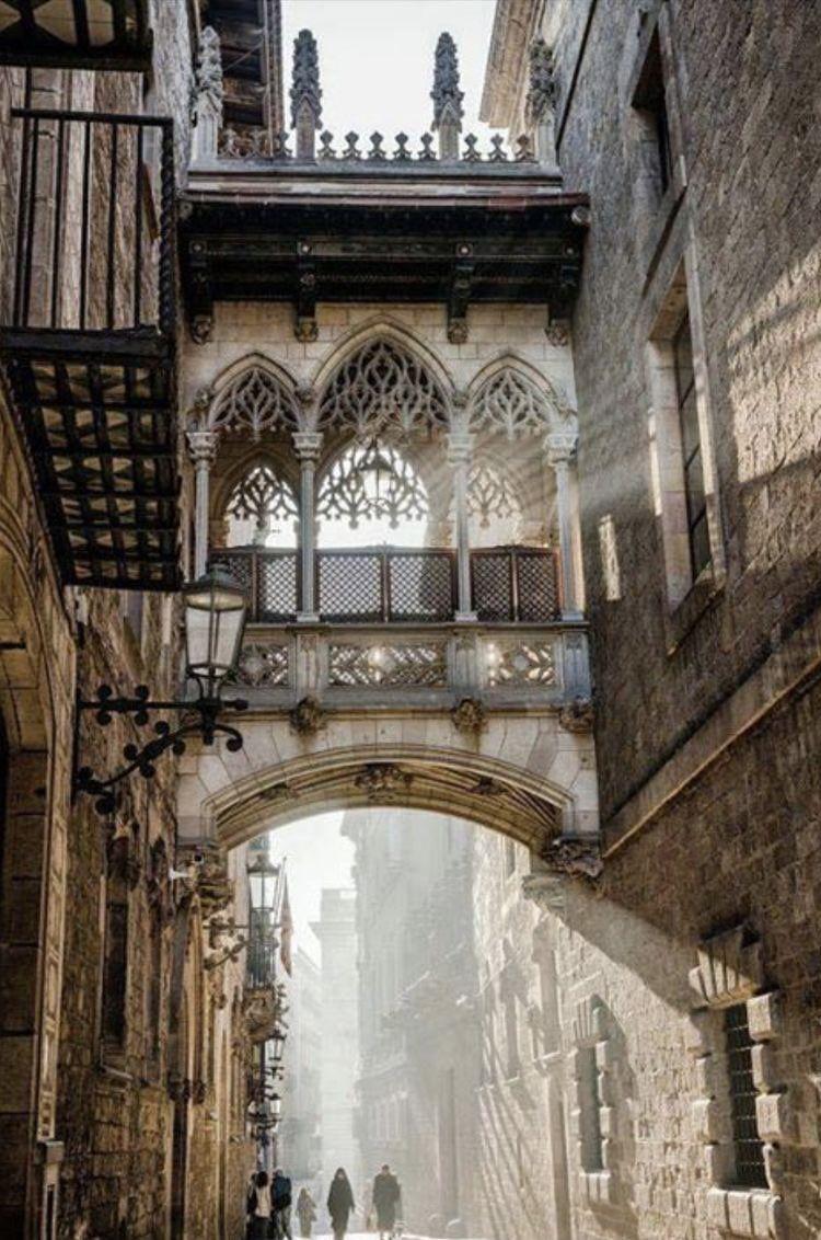 """✈️ on Twitter: """"Gothic Quarter, Barcelona, Spain… """""""