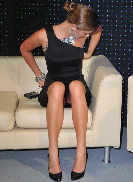 Gallery janis leg upskirt