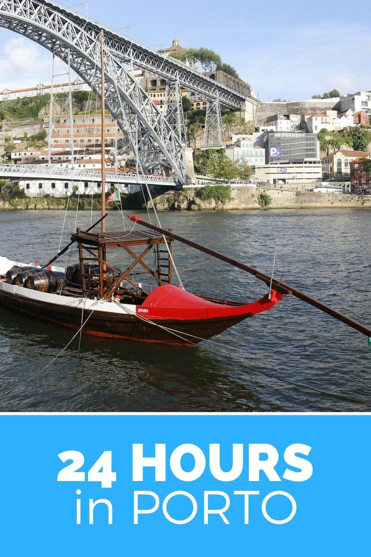 Spend a perfect day in Porto. You absolutely gotta love Porto, Portugal. It's rugged, colourful and vibrant. This is how to spend 24 perfect hours in this city.