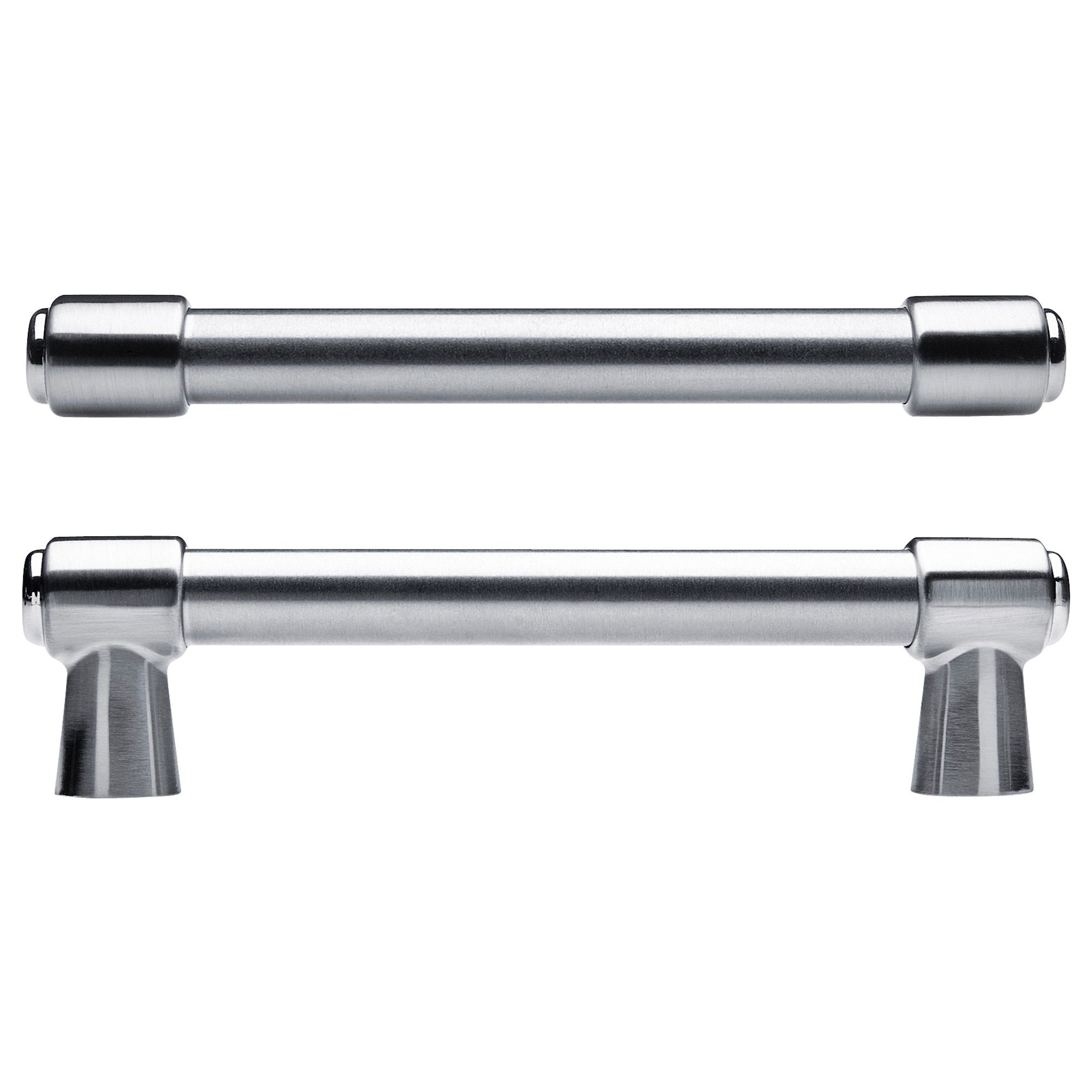 ikea varnhem handle 154 mm these nickel plated handles are