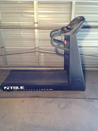 True Fitness Treadmill 540 Hrc A E S Fitness Equipment For Sale No Equipment Workout Treadmill