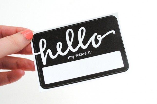 Custom Shaped Name Badges & Custom Name Tags |Creative Name Badge Designs