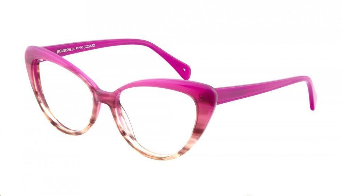 Women\'s Eyeglasses - Bombshell in Pink Cosmo