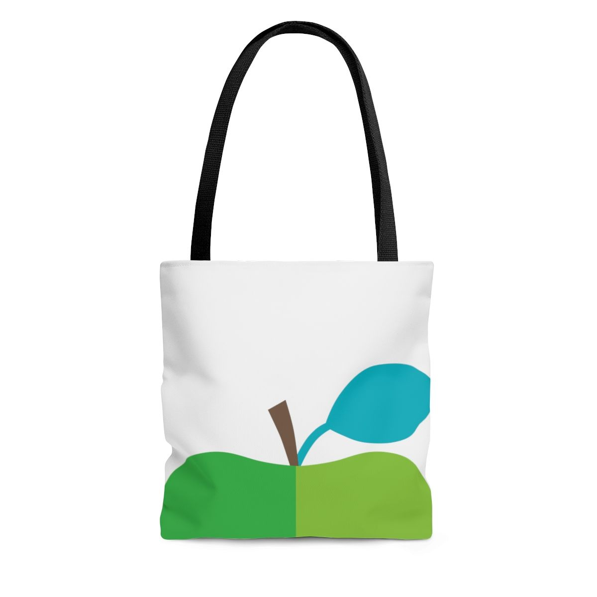 Green Apple Aop Tote Bag