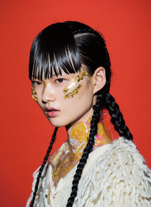 Modern Weekly China September 2015 Cong He Portrait Photography Editorial Hair Portrait