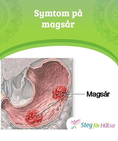 magsår tolvfingertarmen symtom